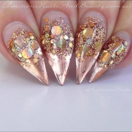 Glitter Blendz - Holo Rose Gold Multi