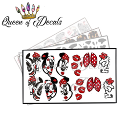 Queen of Decals - Mousy Kisses 'NEW RELEASE'