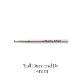CakesInc.Nails - Ball 1.4mm (Diamond Bit) Medium
