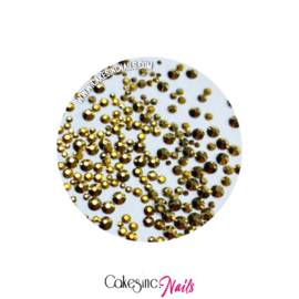 Crystal.Cakey - Gold Aurum '1000pcs MIXED PACK'