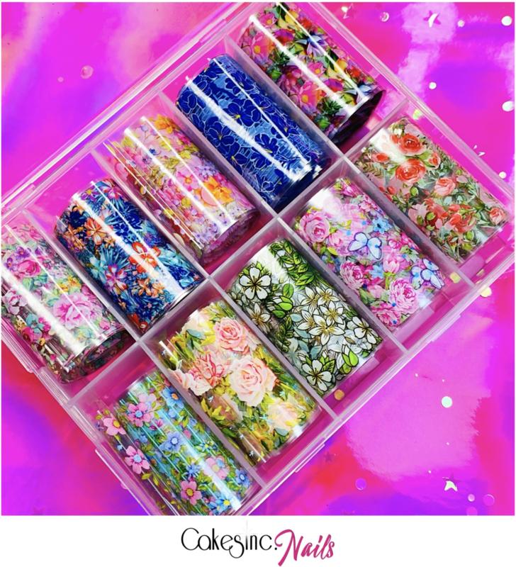 CakesInc.Nails - Transfer Foil Set #006 'The Floral'