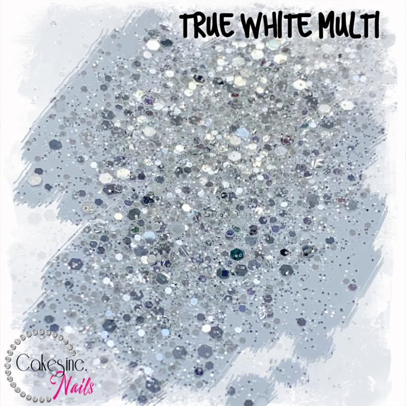 Glitter.Cakey - True White Multi
