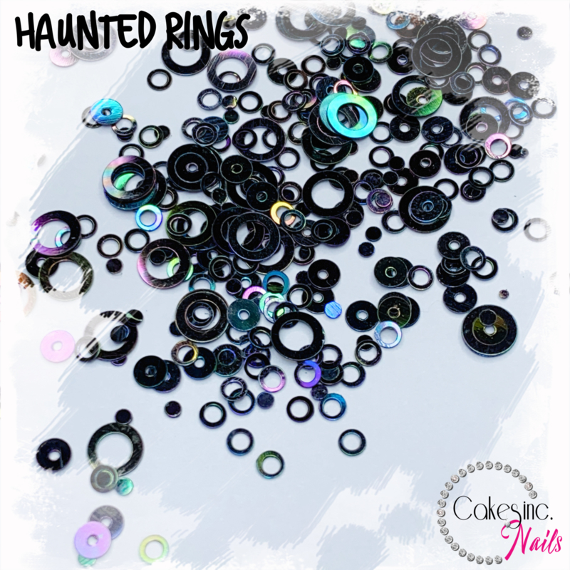 Glitter.Cakey - Haunted Rings