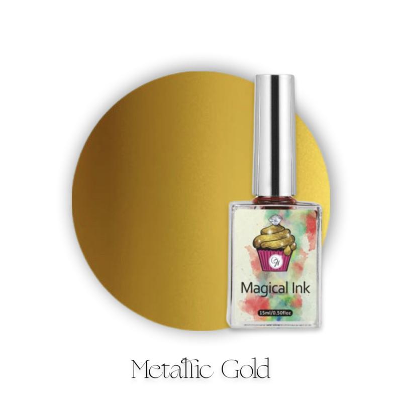 CakesInc.Nails - Magical Ink #015 'Metallic Gold'