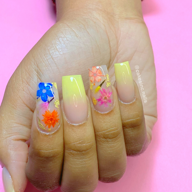 """CakesInc.Nails - Dried Flowers """"Spring Inspired Mixed-Pack"""""""