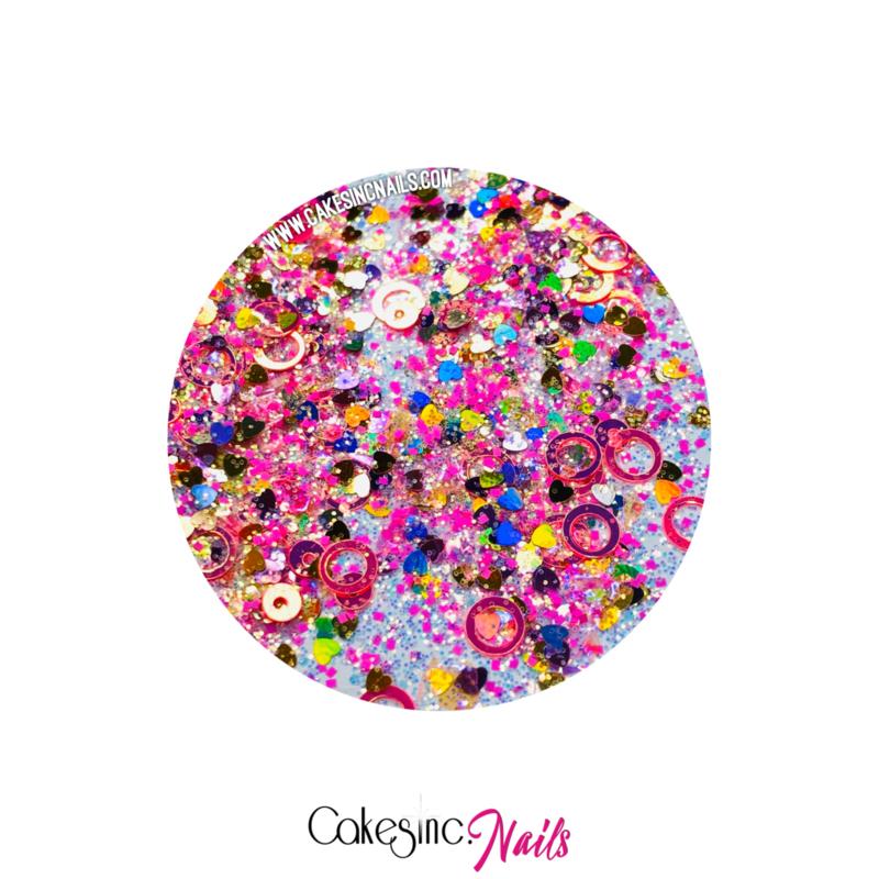 Glitter.Cakey - La Rosa 'CUSTOM MIXED'