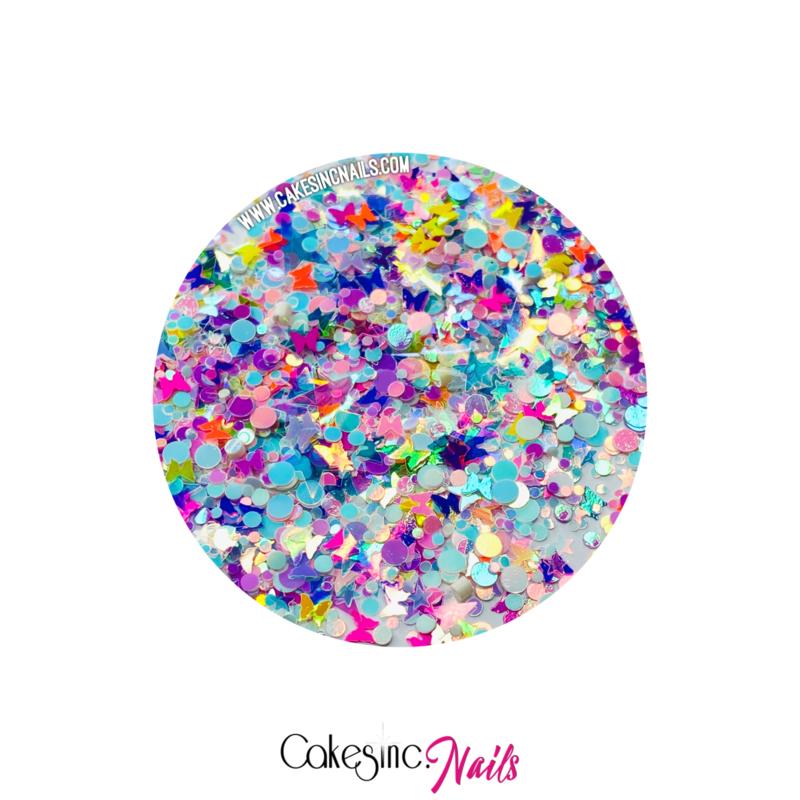 Glitter.Cakey - Tropical Butterfly 'CUSTOM MIXED'