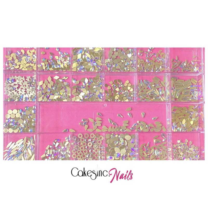Crystal.Cakey - The Bling Box 🤑 'Aurora Borealis'