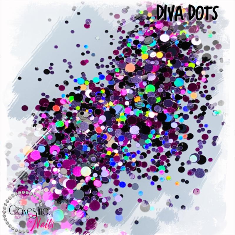 Glitter.Cakey - Diva Dots