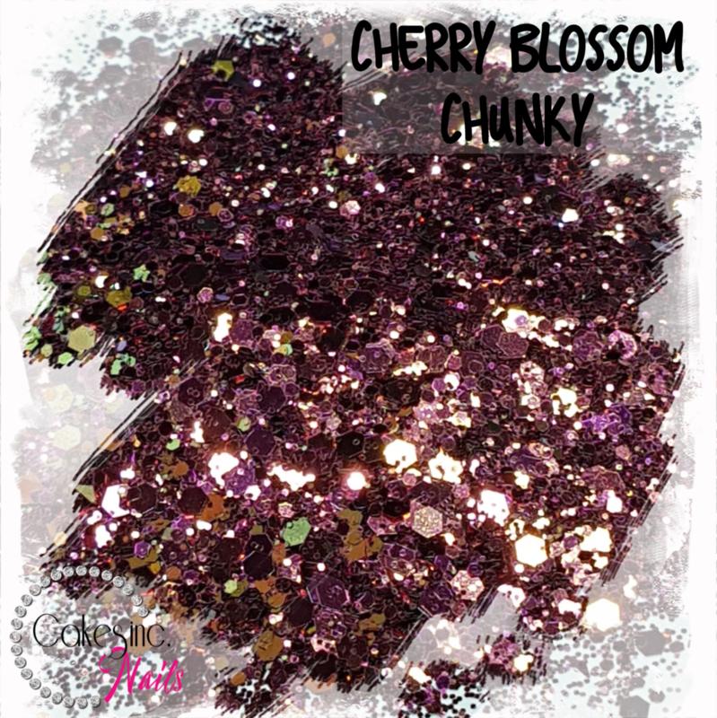 Glitter.Cakey - Cherry Blossom 'CHUNKY CHAMELEON'