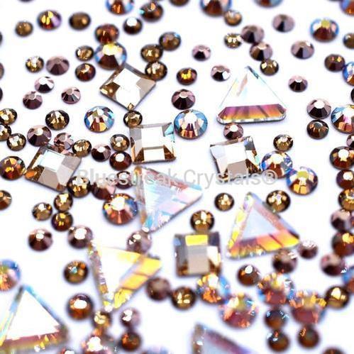 Bluestreak Crystals - Brownie Blush Mix (Preciosa)