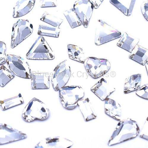 Bluestreak Crystals - Crystal Shapes Mix (Preciosa)