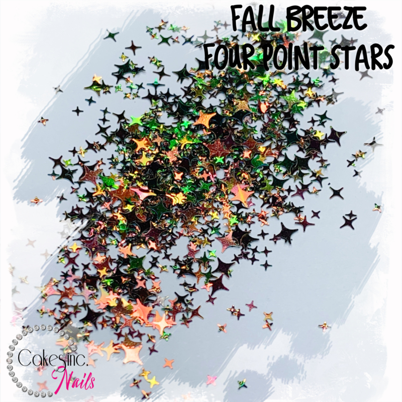 Glitter.Cakey - Fall Breeze Four Point Stars