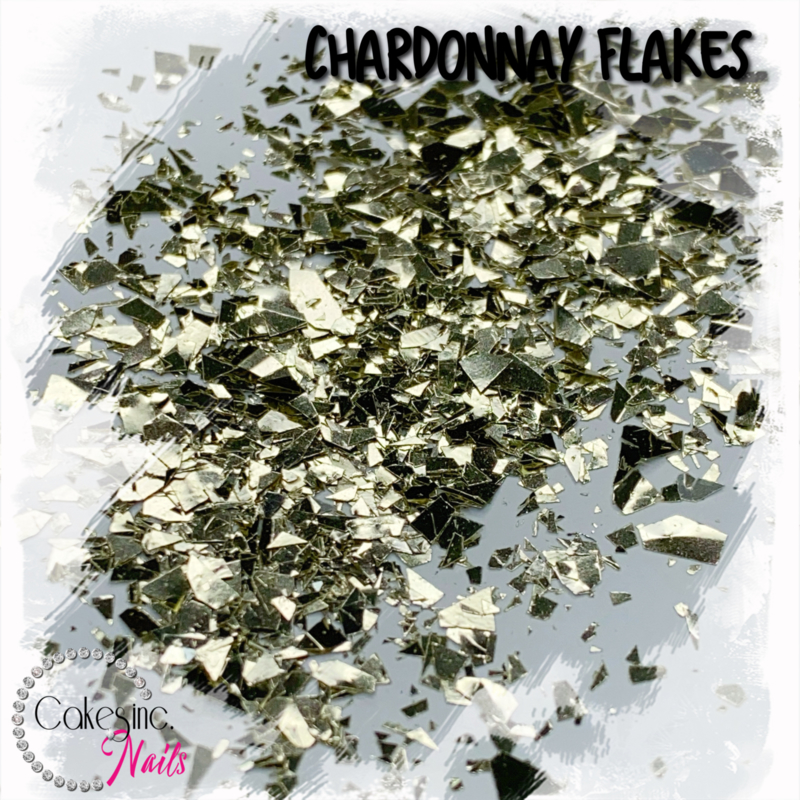 Glitter.Cakey - Chardonnay Flakes