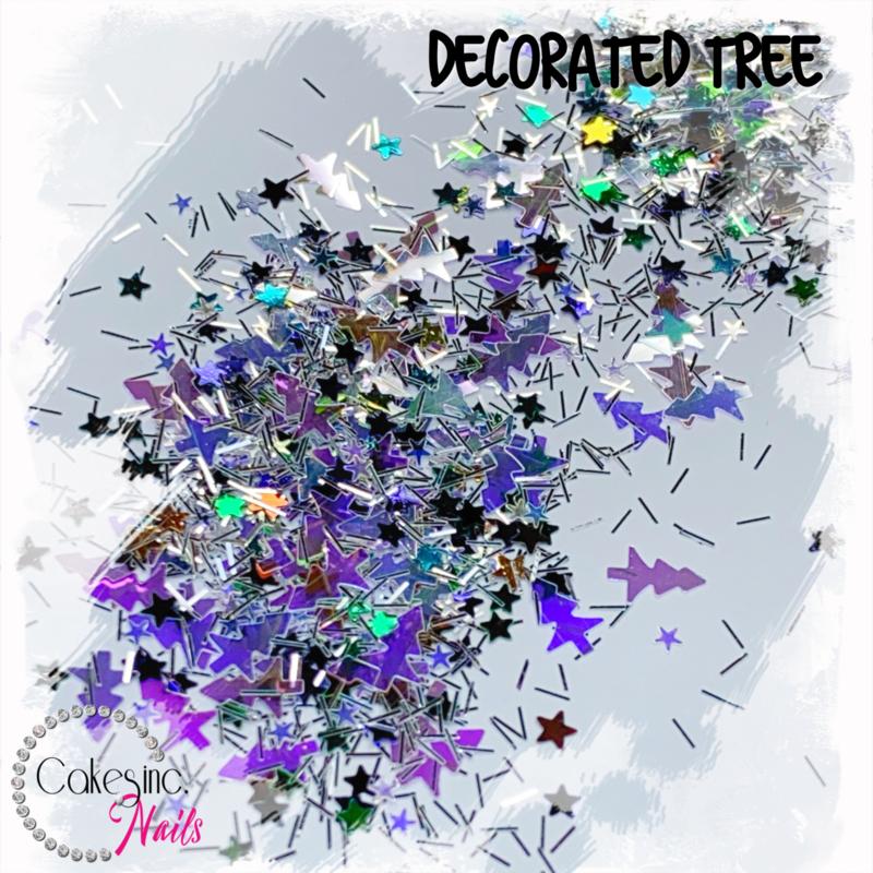 Glitter.Cakey - Decorated Tree