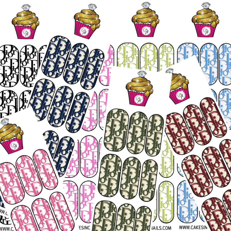 CakesInc.Nails - DD (Bundle Pack) 'NAIL DECALS'
