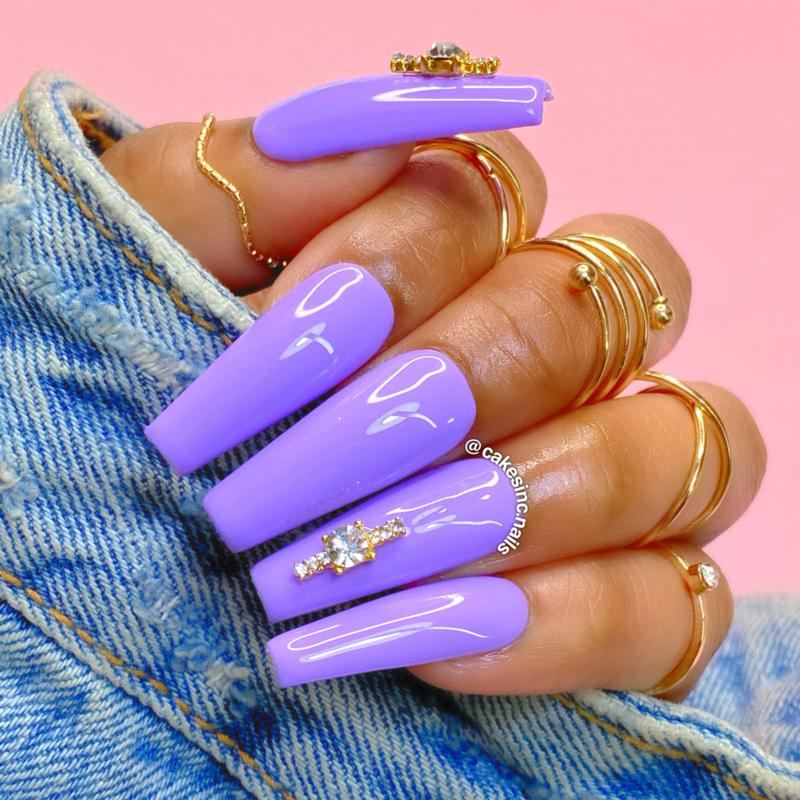 CakesInc.Nails -  Gel Polish '#031 Grape Cream'
