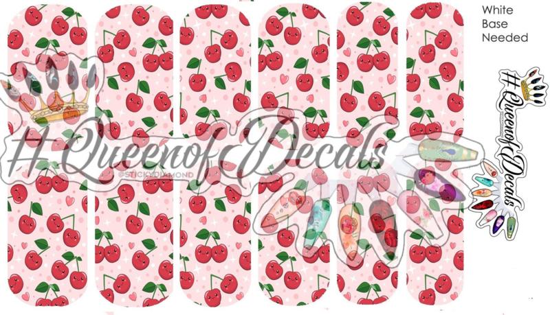 Queen of Decals - Very Cherry (full cover)