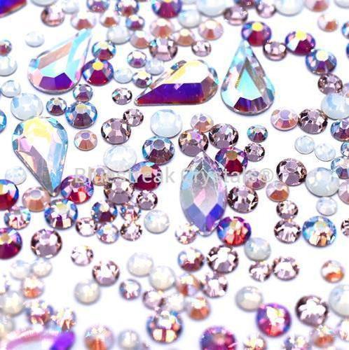 Bluestreak Crystals - Cotton Candy Mix (Preciosa)
