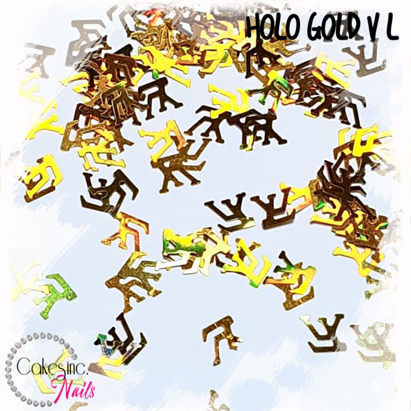 Glitter.Cakey - Holo Gold V L
