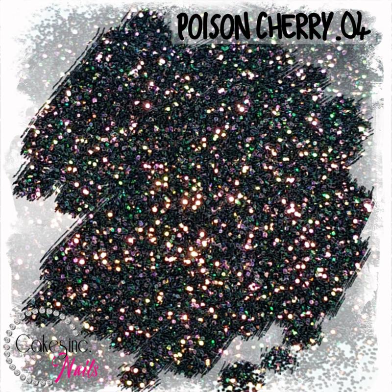 Glitter.Cakey - Poison Cherry .04 'M/F CHAMELEON'