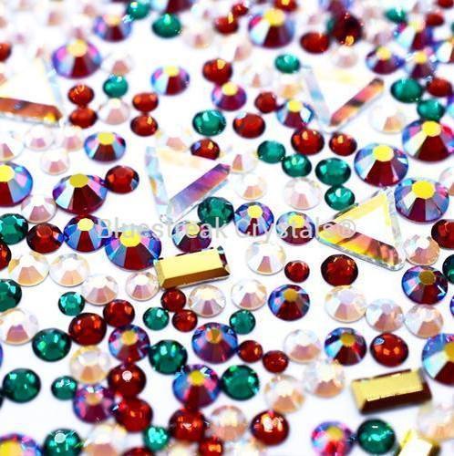 Bluestreak Crystals - Noel Mix (Preciosa)