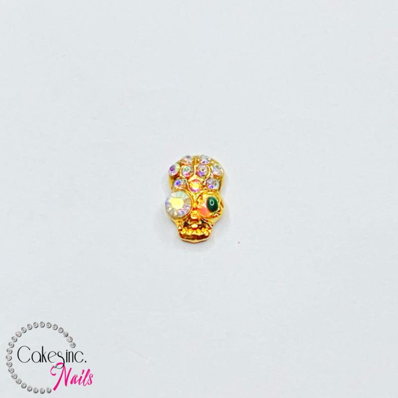 Glitter.Cakey - Nasty Eye Skull Charm 'HALLOWEEN'
