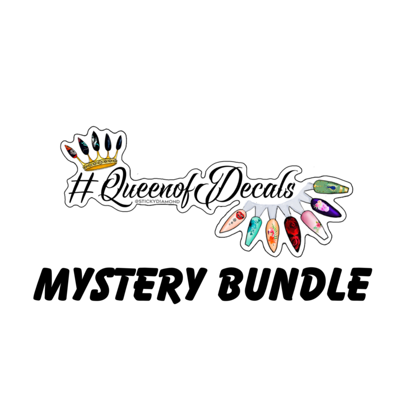 Queen of Decals - MYSTERY BUNDLE (10pcs Pack)