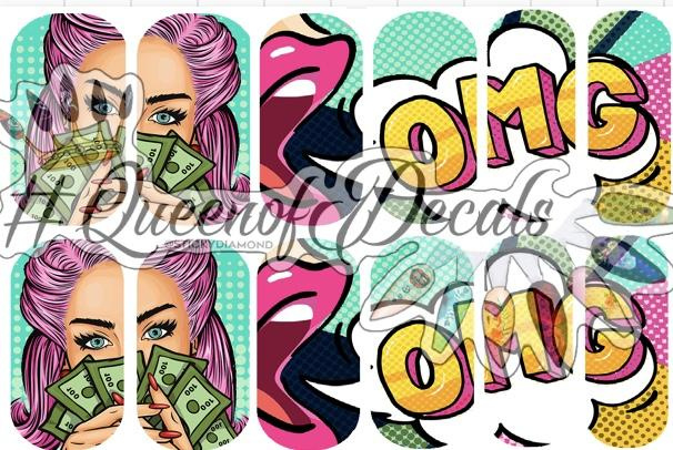 Queen of Decals - Pop Art OMG  'The Ultimate Collection'