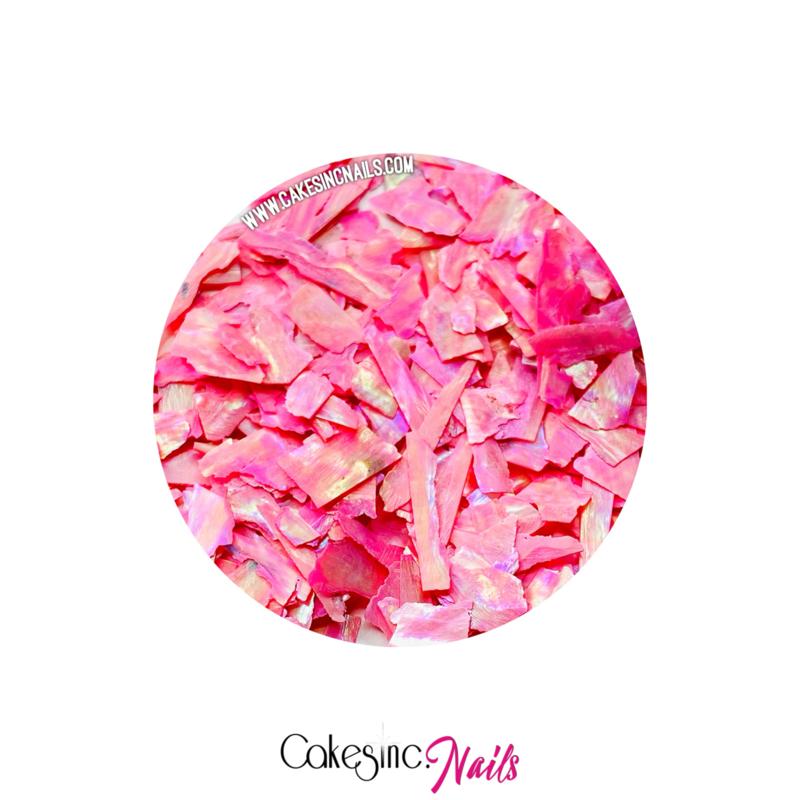 Glitter.Cakey - Hot Pink 'SEA SHELLS'
