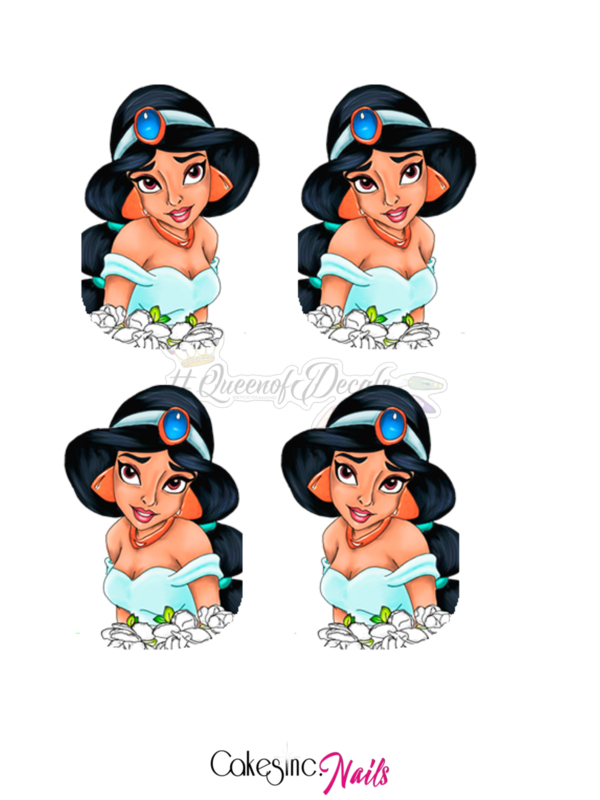 Queen of Decals - Jasmine (Mini Series)