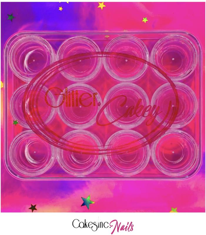 Glitter.Cakey - Glitter Case 'THE MINI' (12 x 1.25g)