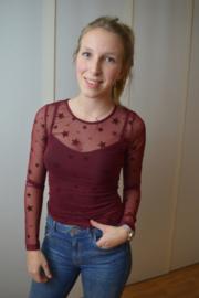 Pippa shirt red
