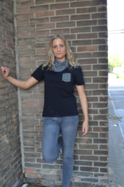 Floor t-shirt black