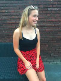 Dora skirt red
