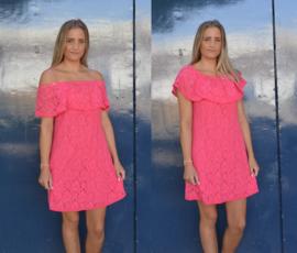 Summer dress fuchsia