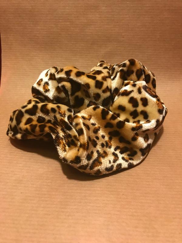 Noor Scrunchie Leopard