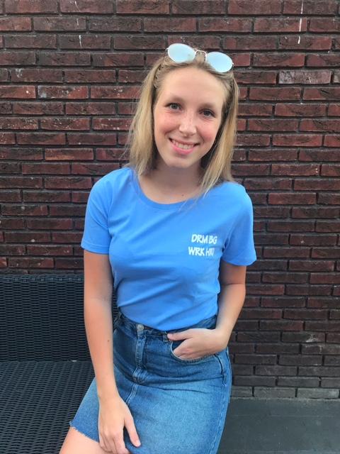 Lynn t-shirt blue
