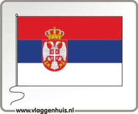 Tafelvlag Servië 10x15 cm