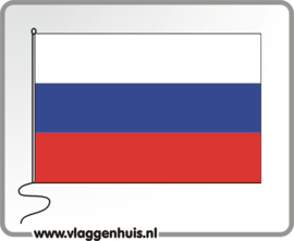 Tafelvlag Russische Federatie 10x15 cm