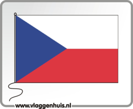 Tafelvlag Tsjechië 10x15 cm