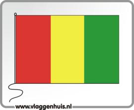 Tafelvlag Guinee Bissau 10x15 cm