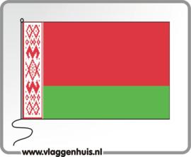 Tafelvlag Wit Rusland 10x15 cm