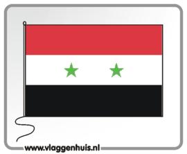 Tafelvlag Syrië 10x15 cm