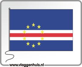 Tafelvlag Kaapverdische Eilanden 10x15 cm