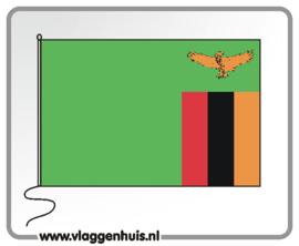 Tafelvlag Zambia 10x15 cm