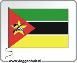 Tafelvlag Mozambique 10x15 cm