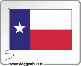 Tafelvlag Texas 10x15 cm
