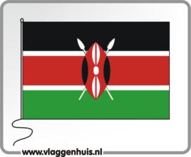 Tafelvlag Kenia 10x15 cm
