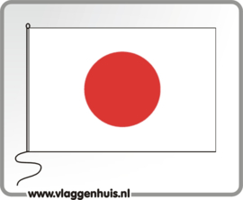 Tafelvlag Japan 10x15 cm